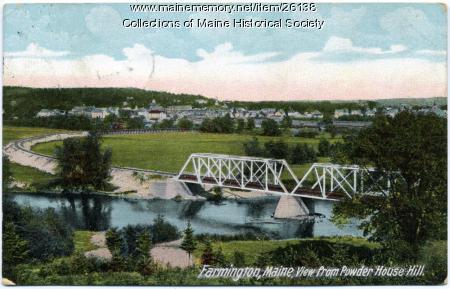 View of Farmington, ca. 1910