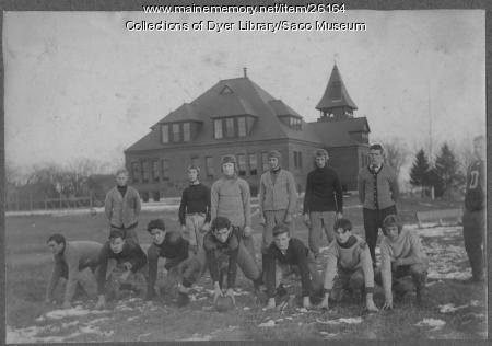 Thornton Academy Football Team, 1908