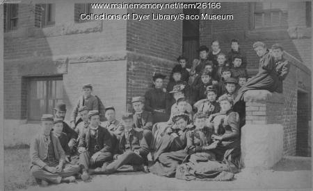 Thornton Academy Students, Saco, ca. 1890