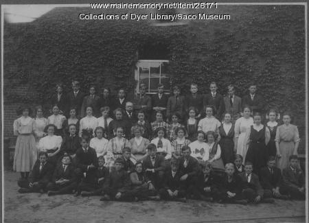 Locke Grammar School, Saco, 1909