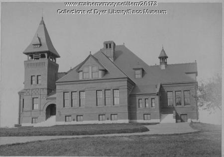 Thornton Academy, Saco, ca. 1889