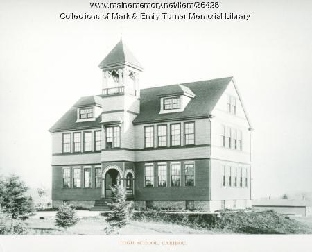 Caribou High School, 1895