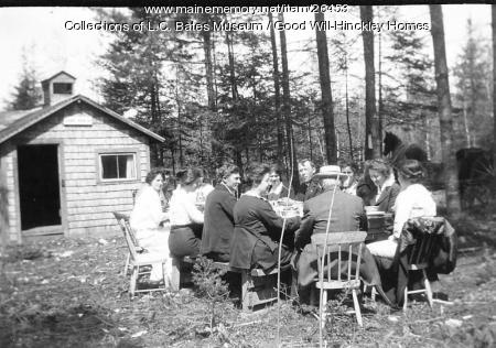 Picnic at Good Will Farm, ca. 1915