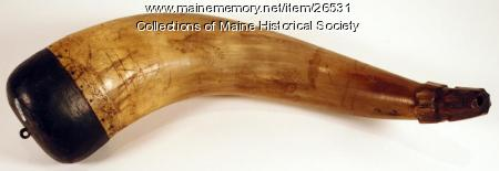 Canallis powder horn, 1786