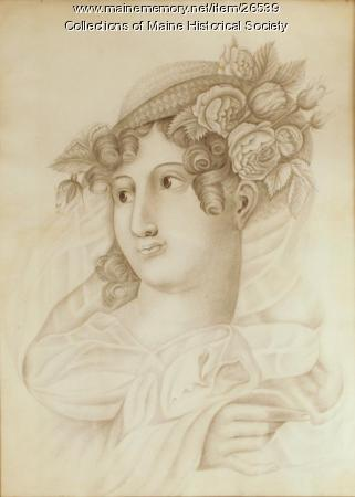 Young girl, Portland, ca. 1820