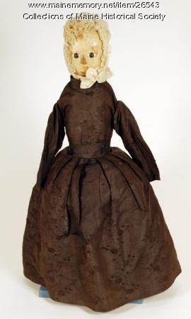 Child's doll, ca. 1775