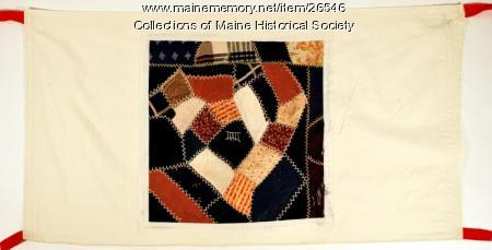 Peace quilt section, 1985