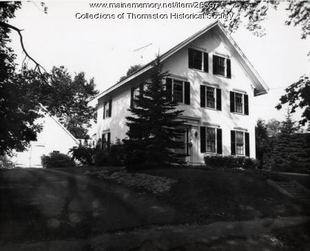 Oliver Robinson House, Thomaston, 1960s