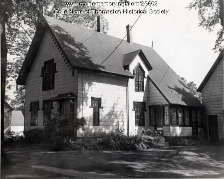 The Fernald House, Thomaston, ca. 1960s