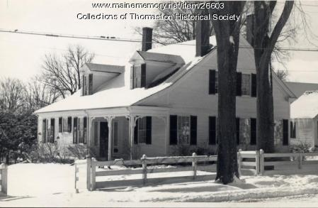 George Robinson House, Thomaston, ca. 1970s