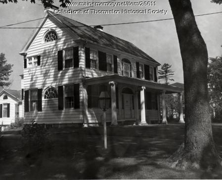 The Lionell Jealous House, Thomaston, ca. 1960s