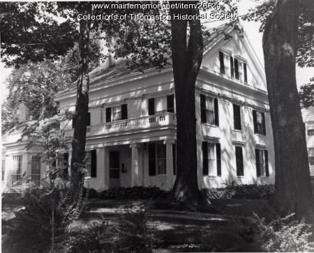 The Ranlett House, Thomaston, ca. 1960