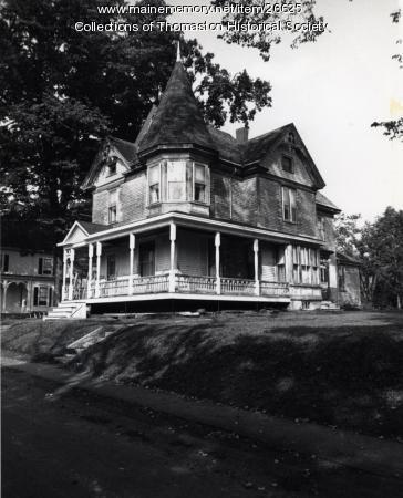 The Smalley House, Thomaston, ca. 1950