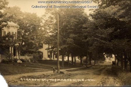 Gleason Street, Thomaston, ca. 1910