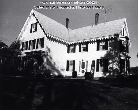 The Strout House, Thomaston, ca. 1960