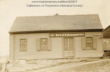 Burgess and O'Brien Store, Thomaston, ca. 1860