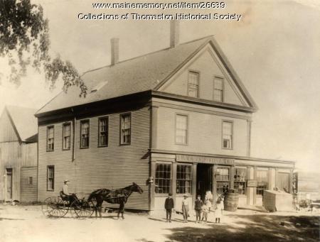 J. A. Creighton Store, Thomaston, ca. 1870