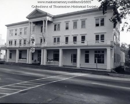 Knox Hotel, Thomaston, ca. 1975