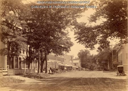 Main Street, Thomaston, 1890
