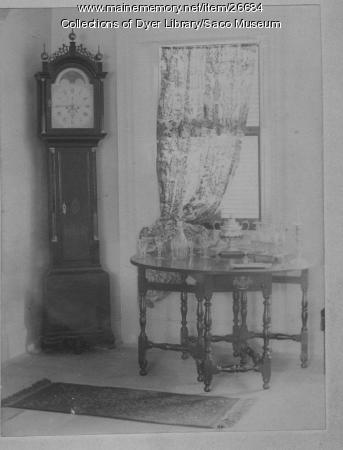McArthur House interior, Saco, ca. 1895