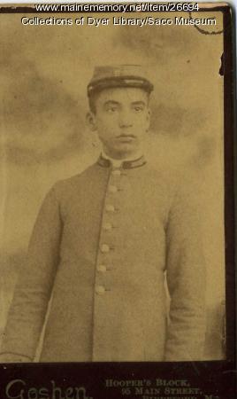 Thornton Academy Cadet, 1891