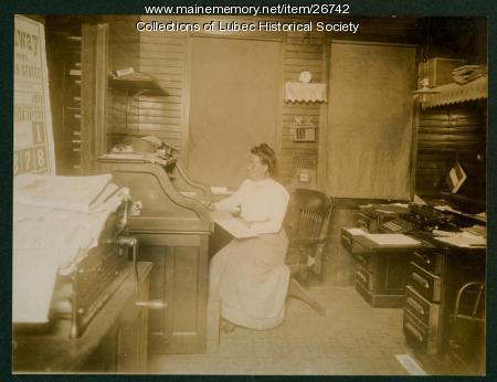 Sardine Company, Lubec, 1911