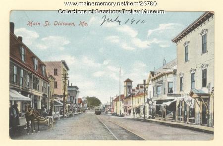 Main St., Oldtown, ca. 1910