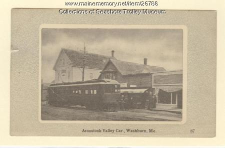 Aroostook Valley Car, Washburn, ca. 1910