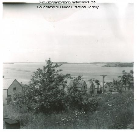 Sardine worker housing, Lubec, 1951