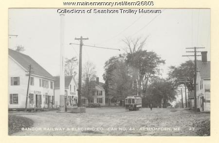 Bangor Railway & Electric Co., Hampden, ca. 1939