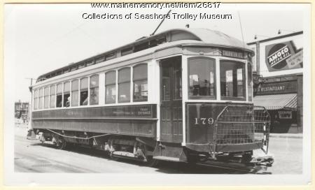 Car #179, Portland, ca. 1937
