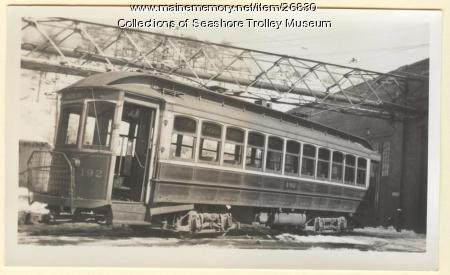 Car #192, Portland, 1937
