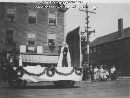 Parade Float, Saco, ca. 1918