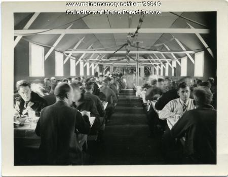 Christmas at CCC Jefferson Camp, 1933
