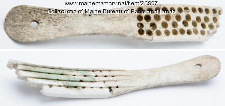 Bone Hair Brush From the 1600s