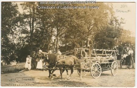 Firefighting vehicle, Lubec, 1911