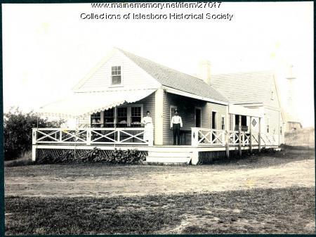 First Tarratine Golf Club, Islesboro, ca. 1912