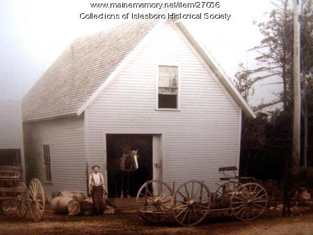 Blacksmith Shop, Islesboro, ca. 1890