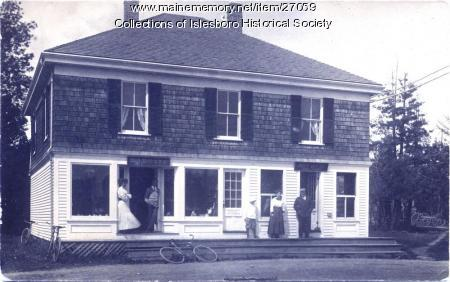 Dark Harbor Post Office, Islesboro, ca. 1900