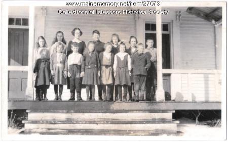 The Parker School, Islesboro, ca. 1920