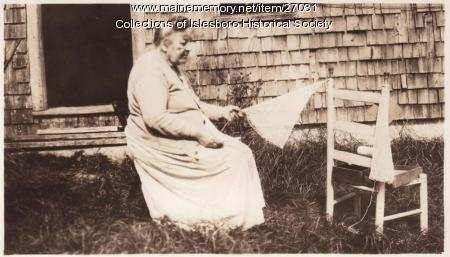 Roxy Parker, Islesboro, 1930