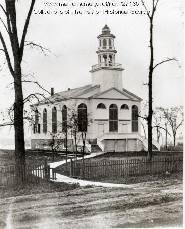 Congregational Church, Thomaston, ca. 1870