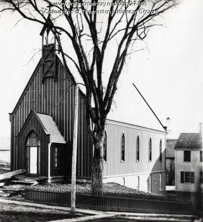 St. John the Baptist Episcopal Church, Thomaston, ca. 1870
