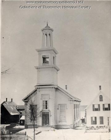 Methodist Church, Thomaston, ca. 1871