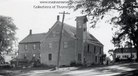 Stimpson's Hall, Thomaston, ca. 1950