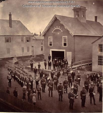 Eureka Engine Company No. 4, Thomaston, ca. 1878