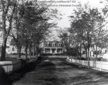 Elm Street, Thomaston, ca. 1870