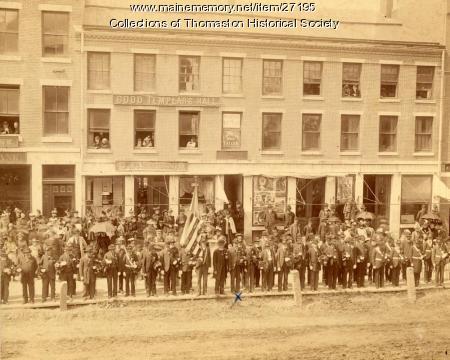 Memorial Day Parade, Thomaston, 1890