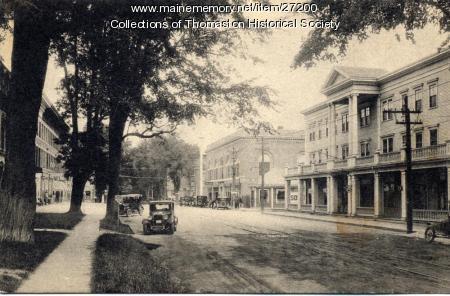 Main Street, Thomaston, 1928