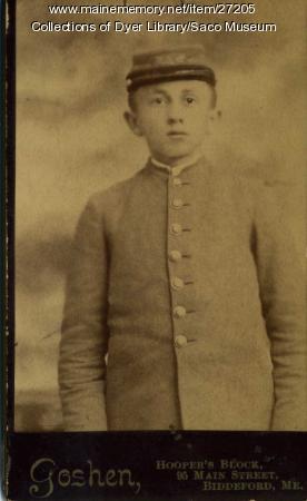 Ray McIntire, Thornton Academy, 1891